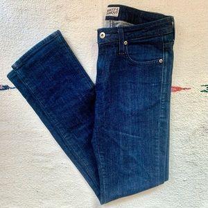 Naked & Famous Slim Girl Indigo Denim Jeans